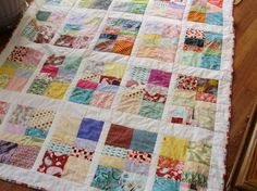 Looking for quilting project inspiration? Check out Mikayla's quilt by member crzynanc. - via @Craftsy