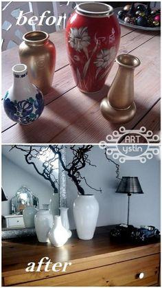 malowane wazony- painted vases