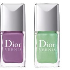 nail polish trends for sprig/summer chanel le vernis nail polish summer 2012 april may june, dior 694 forget-me-not and 504 waterlily nail polish trend, ysl la laque 7 and 8 nail polish spring/summer 2012 Dior Nail Polish, Dior Nails, Nail Polish Trends, Nail Polishes, Manicures, Spring Nail Trends, Spring Nails, Irish Fashion, Dior Beauty