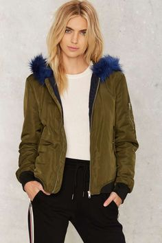 Carnaby Bomber Jacket - Clothes | Bomber Jackets | Faux Fur | Faux Fur