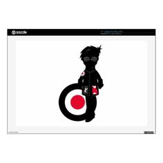 Cool Mod in Silhouette Decal For Laptops by #markmurphycreative at #zazzle  http://www.zazzle.com/markmurphycreative