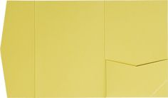 Banana Yellow Solid Pocket Invitation Card, A7 Himalaya http://www.paperandmore.com/product/4450/banana-yellow-solid-a7-himalaya-pocket-invitations