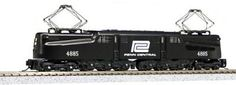 Train Sets 113519: Kato Usa Model Train Products Gg1 #4885 Penn Central N Scale Train -> BUY IT NOW ONLY: $187.82 on eBay!