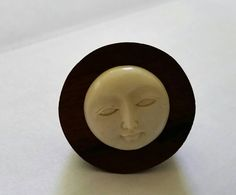Check out this item in my Etsy shop https://www.etsy.com/listing/250011855/man-in-the-moon-ring-carved-bone-and