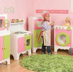 green room for girls | Play Kitchen | Kids Kitchen Set | KooKoo Bear Kids