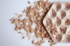 Salvamanteles grabado en 3D madera -Drops de ObjectsbyMedio en Etsy