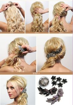 how to make a pinned side pony