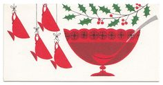 "UNUSED Vintage Greeting Card Christmas Party Invitation Punch Bowl Mid-Century  FOR SALE • $2.95 • See Photos! Money Back Guarantee. Vintage Party Invite CardUnused. No envelope.""Carol Cards West Orange NJ""2.75"" x 5.25"" See my other listings for more Vintage Greeting Cards ………………………………………………………………………………… I will combine shipping on multiple purchases Please 162603990428"