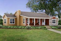 Modular Home Floor Plans and Designs - Pratt Homes Modular Homes Texas, Best Modular Homes, Modular Homes For Sale, Custom Modular Homes, Prefab Homes, Log Homes, Modular Home Floor Plans, House Floor Plans, Tiny Texas Houses