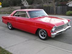 1966 Chevy Nova II - I used to have a car just like this.  Same color.  I miss it so much!