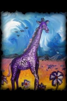Purple Giraffe ;)