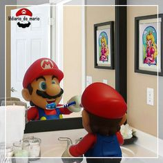 Getting #ready for another day of #work.  #mario