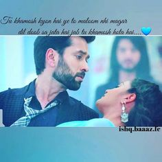 ❤just look at him he is soo afraid and panic for anika soooooo caring for her both are made for each other ✌perfect  #shivika #love #couple #today #episode #Ishqbaaaz #anika #shivika @nakuulmehta @officialsurbhic @starplus