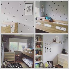 The boys new room. I'm pretty happy with the end result, and so are they!!