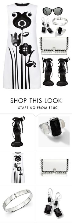 Black & White by christine-sacco on Polyvore featuring Victoria, Victoria Beckham, Schutz, Proenza Schouler and Ippolita
