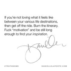 This #Truthbomb came from my post: Life is what happens on the way to the finish line. Click to read the full post.