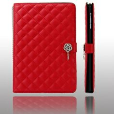 Keep your iPad Mini safe and protected in style with this elegant purse leather case. Fashionable, stylish, chrome metal flower and strap decorating the iPad Mini case more and gracious. Plus stand function, you can fold in the right place to become a perfect stand for face time, watching movies or typing. Dress up your iPad Mini and make it stand out from the crowd with this trendy case!    Brand new and high quality Purse Design Magnetic Stand Leather Case for iPad Mini Exterior high…