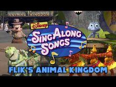 Disney Sing Along Song: Flik's Musical Adventure At Animal Kingdom In HD - YouTube Sing Along Songs, Candle Magic, Discord, Day Up, Walt Disney World, Animal Kingdom, Musicals, Singing, Adventure