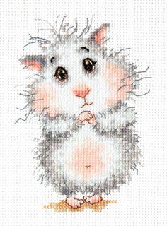 Набор для вышивания Чудесная игла 19-16 Купи хомячка!