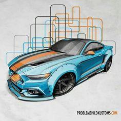 Problem Child Kustoms Mustang Mondays