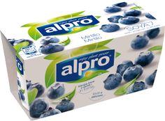 Yogurt di soia Alpro ai mirtilli