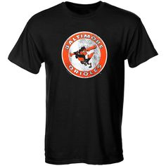 Baltimore Orioles Youth Cooperstown T-Shirt – Black - $17.59