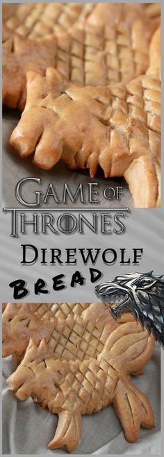 Game of Thrones Direwolf Bread Recipe