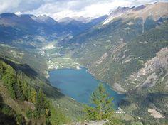 Lago di Poschiavo, vom Giümelin, GR Switzerland