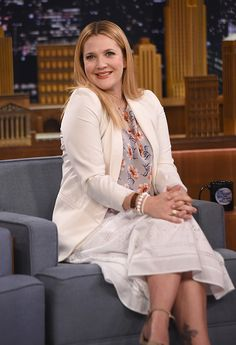 Drew Barrymore visits 'The Tonight Show Starring Jimmy Fallon' at Rockefeller Center on November 11, 2014 in New York City.