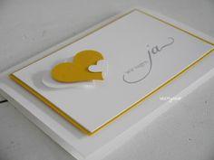 Stampin with Beemybear: Hochzeitseinladung - Wir sagen ja, Wedding Invitation
