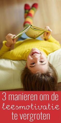 Sommige kinderen vinden het lastig om te genieten van het lezen. Je kunt op drie makkelijke manieren de leesmotivatie van deze kinderen vergroten.