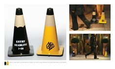 D: Pencil traffic-cones