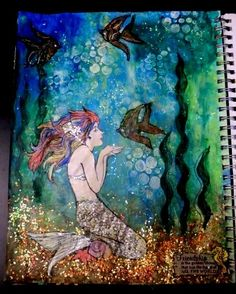 """Mixed Media Art Journals 