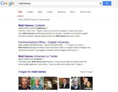 University students: own the first page of Google   LinkedIn