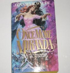 Once More, Miranda by Jennifer Wilde (1983, Paperback)
