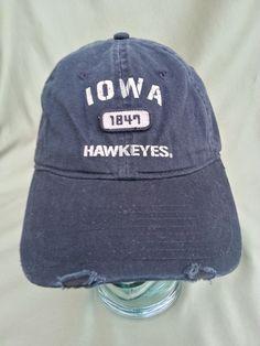 89f32817dbb0a Iowa Hawkeyes Strapback Hat