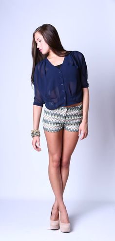 Missoni Love Shorts $37...Find Cousin Couture on FB and follow us on twitter: @cousin_couture