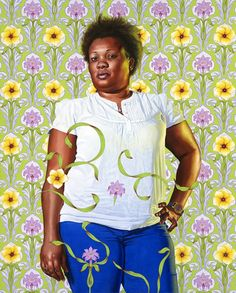 AphroChic: Kehinde Wiley's Portraits From Haiti