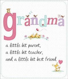 ♥missing my grandma right now, but when I saw this it just makes me miss her more.