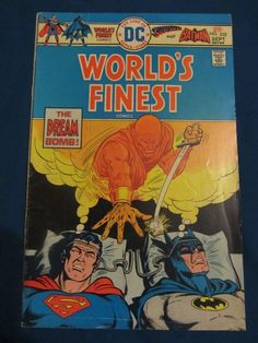 Worlds Finest #232 Superman and Batman FN+ 6.5