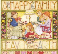 Mary Engelbreit - A happy family is heaven on earth