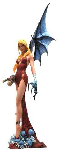 Diamond Select Toys Femme Fatales: Darkchylde PVC Statue by Diamond Select Toys. $32.81. Captures Ariel Chylde, the girl cursed to become the many creatures from her recurring nightmares. High level of detail and an exacting paint process. Sculpted by Sam Greenwell. Designed by Randy Queen from his bestselling comic. A Diamond Select release. From the Manufacturer                A Diamond Select Release. Designed by Randy Queen. Sculpted by Sam Greenwell. Ariel Chylde is a ...