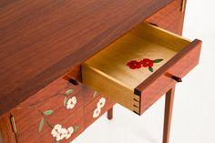 Spring Flowers II Cabinet | Bungendore Wood Works Gallery