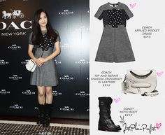 Just Plain Perfect: f(x) Victoria Song at Coach Ribbon Cutting Event i...