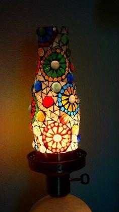 Stained Glass Mosaic Lamp - beautiful!