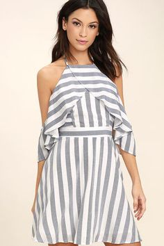 5df9c8cfc38 Find a Cute Off-Shoulder Casual Dress at a Great Price