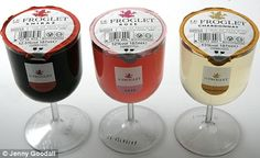 Wine in a Single-Serve Plastic Glass: Big Seller in England! hmmm....