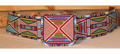Collector's item: Crow fully beaded belt and buckle