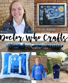 Doctor Who Crafts and DIY's! Loads of super fun and totally geeky Doctor Who crafts! Please leave me a comment and tell me what you love the best!