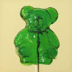 Barley Sugar Bear Lollipop, painting by artist Oriana Kacicek Food Painting, Painting & Drawing, Barley Sugar, Sugar Bears, Daily Painters, Still Life Art, Beautiful Artwork, Art For Sale, Food Art